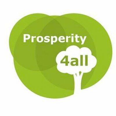Green Prosperity4All tree logo