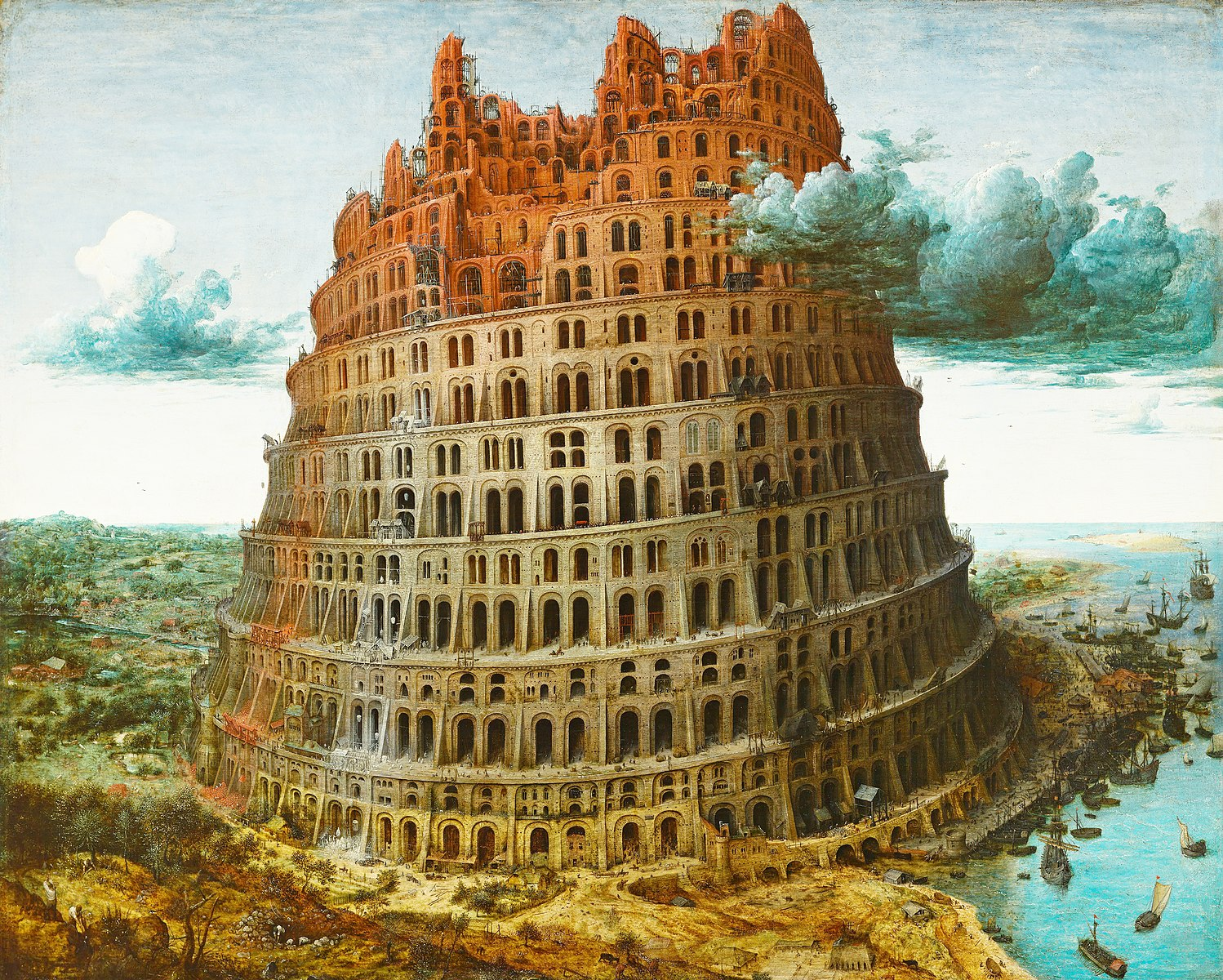 Pieter Bruegel's painting The Tower of Babel